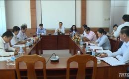 HĐND làm việc về tự chủ tài chính đối với Trường Đại học Tiền Giang