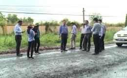 Chủ tịch UBND tỉnh Tiền Giang kiểm tra các dự án kêu gọi đầu tư