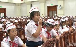 Lãnh đạo tỉnh Tiền Giang gặp gỡ thiếu nhi tiêu biểu