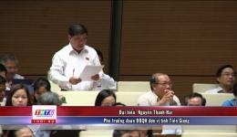 Đại biểu Tiền Giang thảo luận tình hình kinh tế – xã hội tại kỳ họp thứ 7 khóa XIV