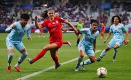 Tuyển Thái Lan thua thảm 0-13 tại World Cup bóng đá nữ
