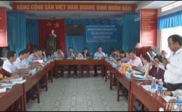 Bộ LĐTB&XH làm việc tại huyện Gò Công Đông