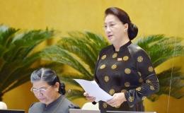Chủ tịch Quốc hội: Các bộ trưởng đã không né tránh những vấn đề được hỏi