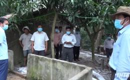 Chủ tịch UBND tỉnh Tiền Giang kiểm tra công tác phòng chống dịch tả heo Châu Phi