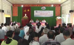 Ông Phạm Anh Tuấn – Phó Chủ tịch UBND tỉnh gặp gỡ nhân dân xã Hòa Khánh, huyện Cái Bè