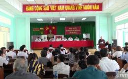 Đại biểu HĐND tỉnh Tiền Giang tiếp xúc cử tri huyện Châu Thành