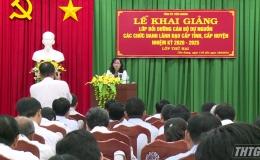 Khai giảng lớp bồi dưỡng cán bộ dự nguồn các chức danh lãnh đạo nhiệm kỳ 2020 – 2025