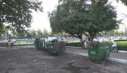Công viên Giếng nước Mỹ Tho – nơi tập kết rác ngay giữa thành phố