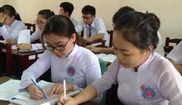 Học sinh lớp 12 sẵn sàng cho kỳ thi tốt nghiệp THPT năm 2019