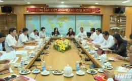 Bộ Trưởng Bộ Tư Pháp Lê Thành Long làm việc với Tỉnh ủy Tiền Giang