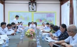 Họp triển khai kế hoạch tổ chức các ngày lễ lớn tỉnh Tiền Giang