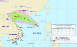Bão số 3 giật cấp 11 di chuyển nhanh vào Quảng Ninh – Hải Phòng