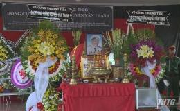 Lễ truy điệu đồng chí Trung tướng Nguyễn Văn Thạnh