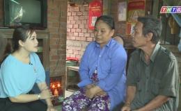 Hoàn cảnh gia đình bà Nguyễn Thị Tròn và ông Lê Văn Trạng