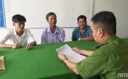 Công an huyện Cái Bè trao trả tài sản cho người bị mất trộm