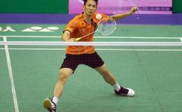 Tiến Minh thua ngược tượng đài cầu lông Trung Quốc Lin Dan ở giải vô địch thế giới