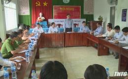 Chủ tịch UBND tỉnh kiểm tra công tác xây dựng nông thôn mới tại huyện Chợ Gạo