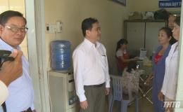 Lãnh đạo UBND tỉnh Tiền Giang kiểm tra công tác phòng chống bệnh sốt xuất huyết