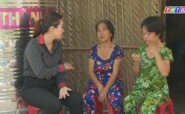 Hoàn cảnh gia đình Cô Nguyễn Thị Chính xã Long Bình- huyện Gò Công tây- Tiền Giang