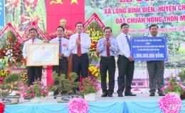 Chủ tịch UBND tỉnh Tiền Giang kiểm tra tiến độ xây dựng nông thôn mới huyện Chợ Gạo