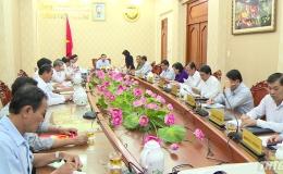 UBND tỉnh Tiền Giang họp thành viên tháng 8