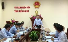 Chủ tịch UBND tỉnh làm việc với các nhà đầu tư