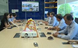 Chủ tịch UBND tỉnh thăm và làm việc các doanh nghiệp tại KCN Mỹ Tho