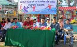 Hội thao chào mừng kỷ niệm 40 năm thành lập Đài Phát thanh Truyền hình Tiền Giang