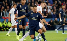 """Cố nhân"" Di Maria gieo sầu, Real Madrid thua tan tác tại Paris"