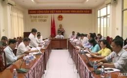 HĐND tỉnh giám sát xây dựng Nông thôn mới huyện Chợ Gạo