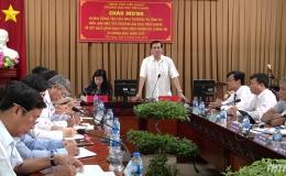 Tỉnh ủy Tiền Giang làm việc với lãnh đạo Trường Đại học Tiền Giang