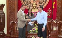Chủ tịch UBND tỉnh Tiền Giang tiếp lãnh đạo Công ty Bia Heineken Việt Nam