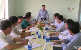 Kiểm tra tiến độ xây dựng xã nông thôn mới huyện Cai Lậy và Chợ Gạo