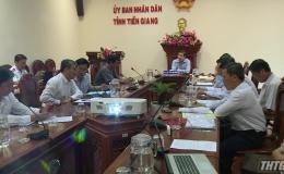 Chủ tịch UBND tỉnh Tiền Giang tiếp hộ dân về việc bồi thường Dự án đường huyện 65