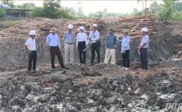 Chủ tịch UBND tỉnh Tiền Giang kiểm tra công tác di dời hạ tầng dự án đường cao tốc Trung Lương – Mỹ Thuận