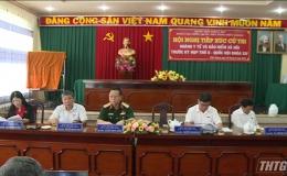Đại biểu Quốc hội tỉnh Tiền Giang tiếp xúc cử tri ngành Y tế và BHXH