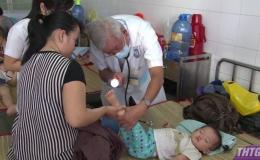 Tiền Giang có trên 1.985 trường hợp mắc bệnh tay chân miệng
