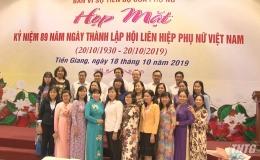 Tiền Giang họp mặt nữ cán bộ lãnh đạo qua các thời kỳ