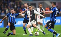 Ronaldo không ghi bàn, Juventus vẫn đè bẹp Inter Milan