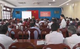 Triển khai kế hoạch sản xuất vụ Đông xuân 2019 -2020 cho các huyện phía Tây