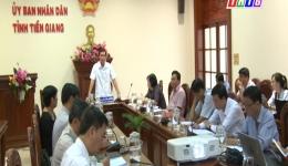 """Câu chuyện pháp luật """"Chủ tịch UBND tỉnh Tiền Giang đối thoại giải quyết khiếu nại của công dân"""""""