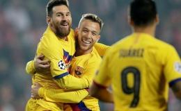 Messi thiết lập kỷ lục ghi bàn mới