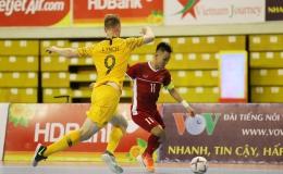 Việt Nam thắng kịch tính Úc ngày ra quân Giải Futsal Đông Nam Á