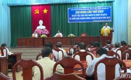 Ban chấp hành Đảng bộ tỉnh Tiền Giang sơ kết nhiệm vụ chính trị quý III
