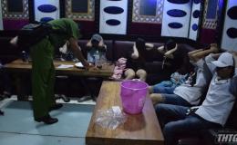 Công an Châu Thành phát hiện 11 đối tượng  sử dụng ma túy trong quán karaoke