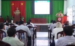 Tiền Giang triển khai sản xuất 2.300 hecta lúa ứng dụng công nghệ cao