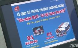 VNPT Tiền Giang tổ chức quay số hòa mạng MyTV trúng smart TV