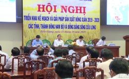 Bộ NN&PTNT triển khai kế hoạch sản xuất vụ Đông Xuân các tỉnh phía Nam