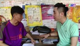 Nghị lực vượt khó của cậu học trò nghèo Phan Hữu Trí