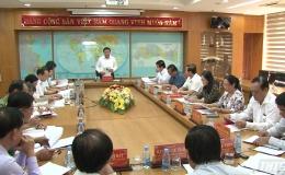Đoàn công tác Ban Bí thư làm việc với Ban thường vụ Tỉnh ủy Tiền Giang